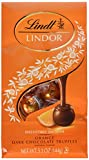 Lindt Orange Dark Chocolate Truffles 6 oz.