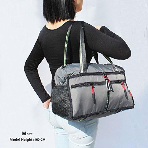 Foldable Travel Bag Duffle Bag Organizer Storage Lightweight Sports Gym Tote Bag by Alpaca Go (Image #5)