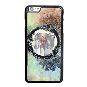 Custom made Case,the Elder Scrolls PC Plastic Cell Phone Case for iPhone 6 6S 4.7 inch,Black Case With Screen Protector (Tempered Glass) Free S-6635210
