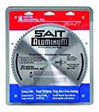 United Abrasives- SAIT 77955 Metal Cutting Blade, Aluminum, 10-Inch by 5/8-Inch, 80-Teeth, 1-Pack