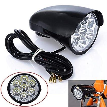 Amazon.com: Nuevo 2800LM 7X LED Luz Delantera de Bicicleta ...