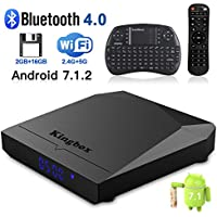 Kingbox K3 Android 7.1 TV Box with Amlogic Octa-Core 64 Bits 2GB/16GB Support Dual WiFi