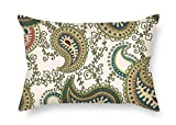 beeyoo Paisley Pillowcover 18 X 26 inches / 45 by 65 cm Best...