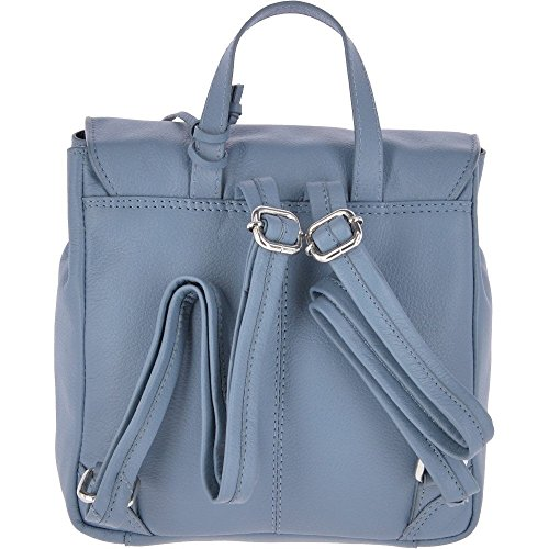 Ashwood dos femme Unique Denim Navy Bleu Leather pour au main Sac porté Blue à Taille rrRwqAY