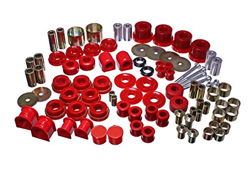- Energy Suspension 4.18127R Hyper-Flex System Red Master Set Hyper-Flex System
