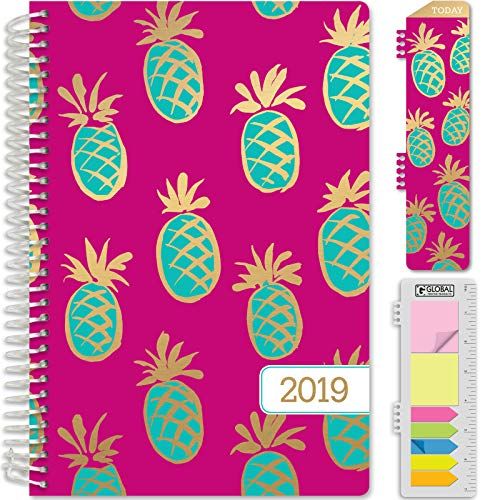 HARDCOVER Calendar Year 2019 Planner: (November 2018 Through December 2019) 5.5