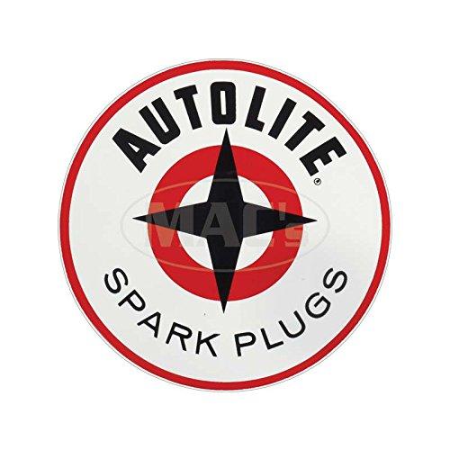 MACs Auto Parts 6648828 Decal Autolite Sparkplug Circle 4 57