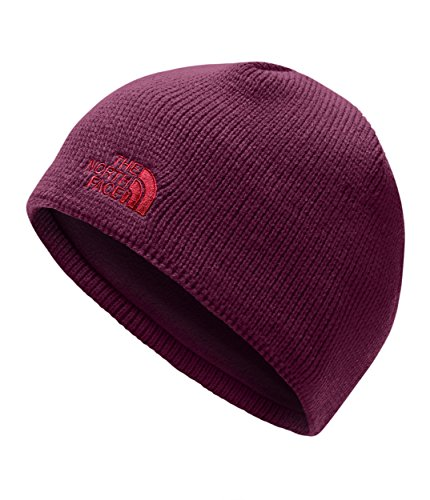 The North Face Unisex Bones Beanie Fig/Fiery Red One Size