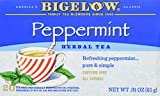 Bigelow Tea Herb Tea Peppermint – 20 Tea Bags