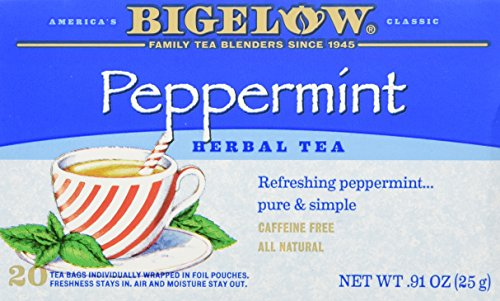 Bigelow Tea Herb Tea Peppermint -- 20 Tea Bags