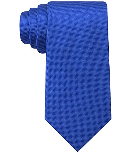 Tie Colorblock (Tommy Hilfiger Mens Silk Colorblock Neck Tie Blue O/S)