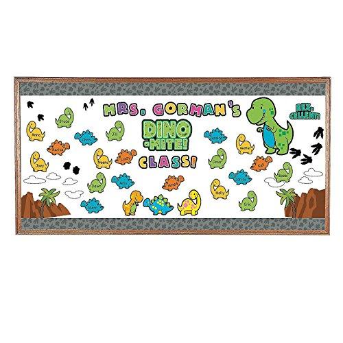 Dinosaur Bulletin Board Set (With Sticky (Dinosaur Bulletin Boards)