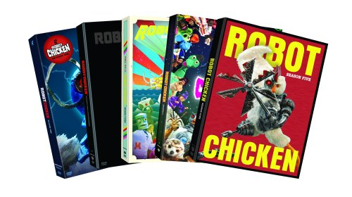 Robot Chicken Season 1-Season 5 (5-Pack-DVD) by WarnerBrothers