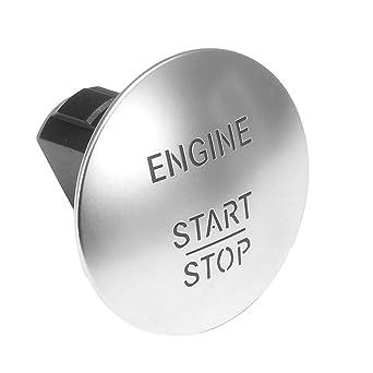 Miazhou Auto Motor Push To Start Stop Schalter Taste Keyless Für Mercedes Benz 2215450714 Gewerbe Industrie Wissenschaft