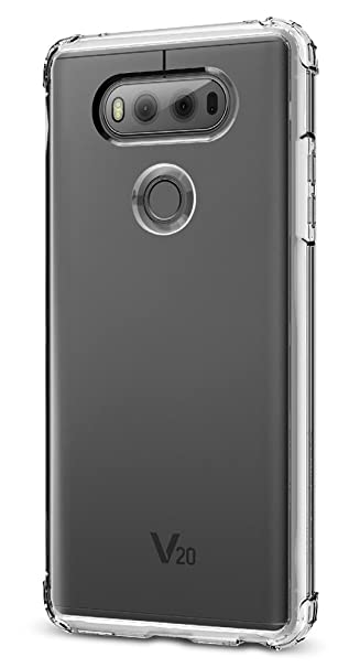 huge discount 5f463 0b6ae Spigen Crystal Shell Designed for LG V20 Case (2016)- Crystal Clear