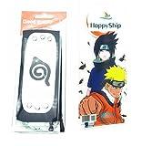 HappyShip 2PCS Naruto Leaf Village and Anti Leaf Village Headband Ninja Cosplay Accessories