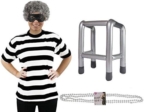 Adultos Gangster disfraz de abuela * Deluxe * Perfecto para la ...