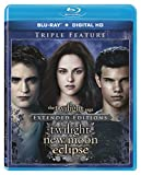 The Twilight Saga: Extended Edition Triple Feature [Blu-ray + Digital HD]