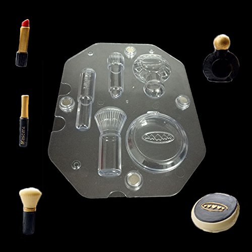 Big Size Polycarbonate DIY 3D Cosmetics Chocolate Mold Stereo Lipstick Mascara Candy Jelly Mold Baking Cake Decorating Tools
