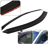 2 Door Window Visor Rain Guard Shade Wind Sun Deflector Aerodynamic Vent Ventilation In-Channel Regular Cab 2 Pieces For Dodge Ram 1500 2500 3500