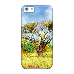 Tpu Fashionable Design Autumn Steppe Rugged Case Cover For Iphone 5c New