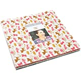 """Woof Woof Meow Layer Cake, 42-10"""" Precut Fabric Quilt Squares By Stacy Iest Hsu"""