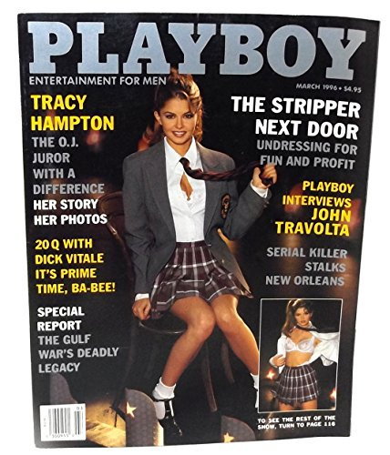 Playboy Adult Magazine, Volume 43, Number 3, March 1996
