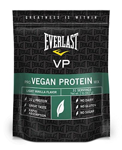 Proteína de Everlast vegano, vainilla, 2 libras