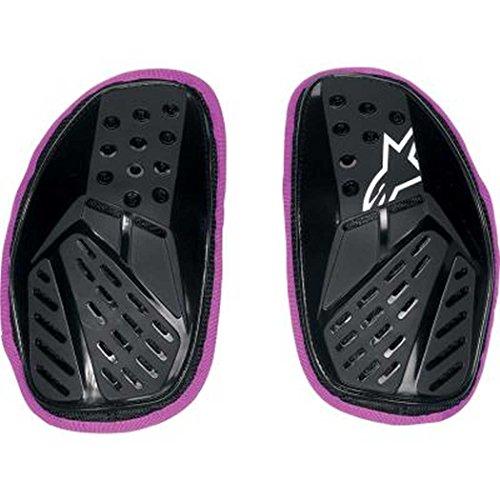(Alpinestars Stella Bionic Chest Pad Women's Protector Sports Bike Motorcycle Body Armor - Black/Violet / One Size)