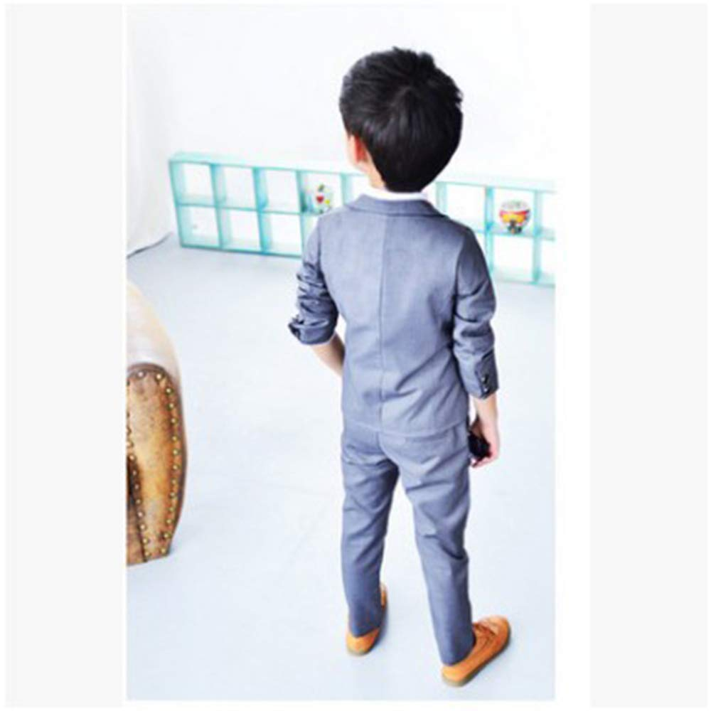 3-8 Years Boys Formal Wedding Suit DAZISEN Page Boy Suit