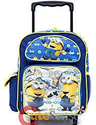 Despicable Me Minions Look At You 12 Inches Rolling Backpack-36578