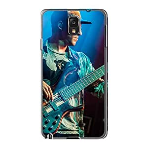 Perfect Hard Phone Cover For Samsung Galaxy Note3 (GhL19920canv) Unique Design Attractive Red Hot Chili Peppers Image