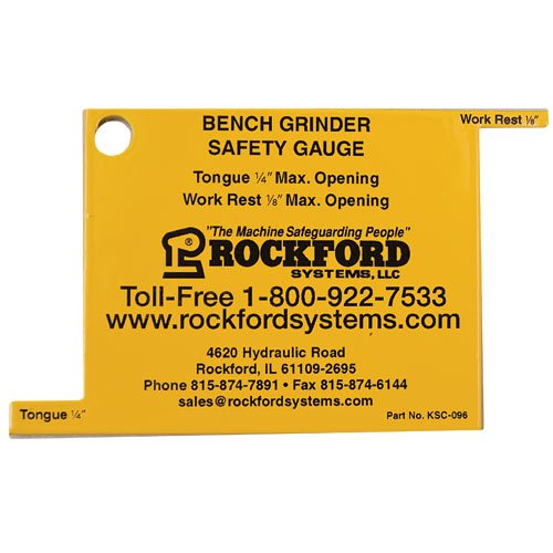 Bench Grinder Safety Gauge 5-Pack