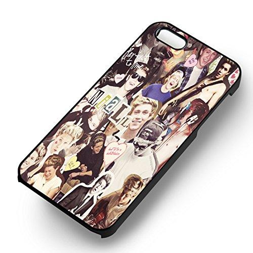 My Love Boyband pour Coque Iphone 6 et Coque Iphone 6s Case (Noir Boîtier en plastique dur) M6I8GD