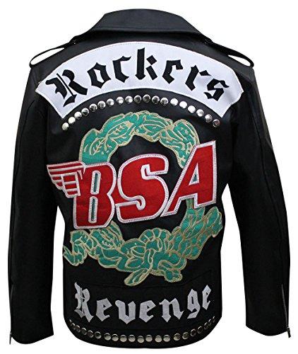 A Rockers Revenge George Michael Hi Quality Geniune & Faux Leather Jacket ()