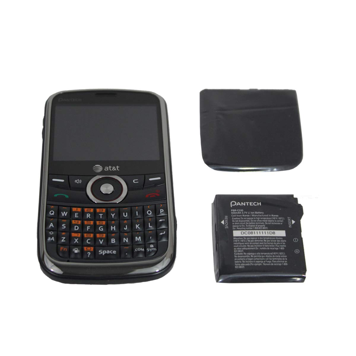 bf7cef2b3cc Amazon.com: Pantech P7040 Link Unlocked Phone with QWERTY Keyboard, 1.3 MP  Camera and GPS-No Warranty-Wine/Black: Cell Phones & Accessories