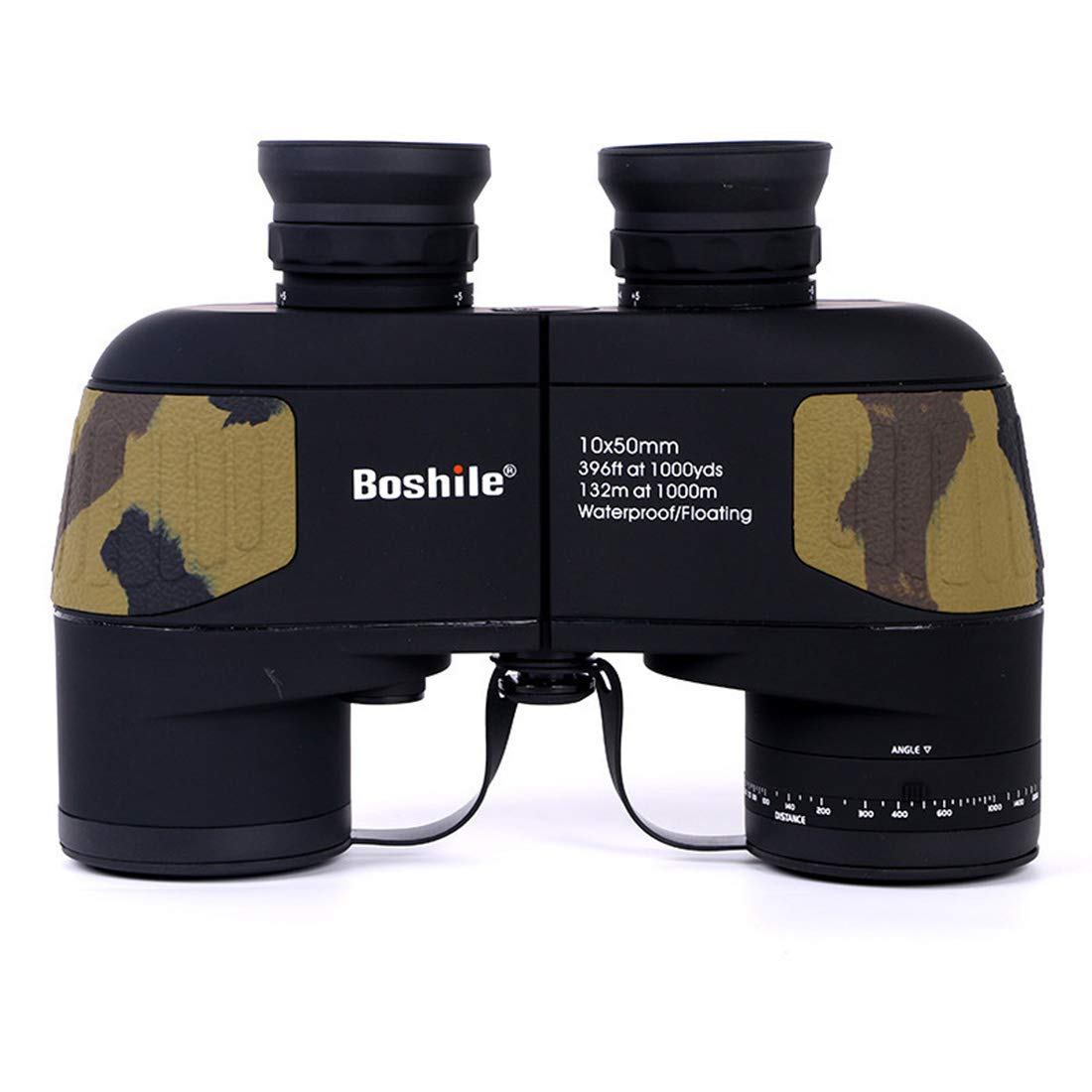 FELICIGG Binoculares de Alta Potencia 10 * 50 HD Zoom a Prueba de Agua Observación de Aves Telescopio de Mano para Uso en Exteriores (Color : Black)
