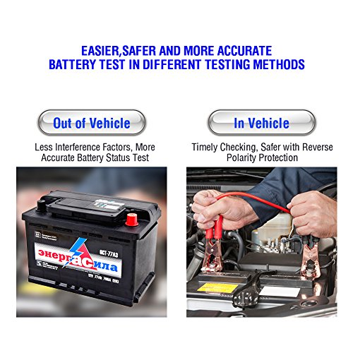 TT TOPDON AB101 Automotive Battery Load Tester on Cranking System, Charging  System and Battery System, 1 (Non-Carb Compliant)