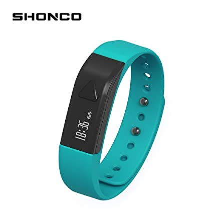 Fitness Tracker podómetro pulsera shonco i5 impermeable ...