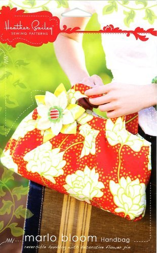 - Heather Bailey's Marlo Bloom Handbag Pattern by Heather Bailey