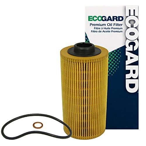 ECOGARD X5280 Cartridge Engine Oil Filter for Conventional Oil - Premium Replacement Fits BMW 740iL, 540i, X5, 740i, M5, 530i, 750iL, 840Ci, Z8, 850i, 850Ci, 850CSi / Land Rover Range (1993 Bmw 750il Engine)