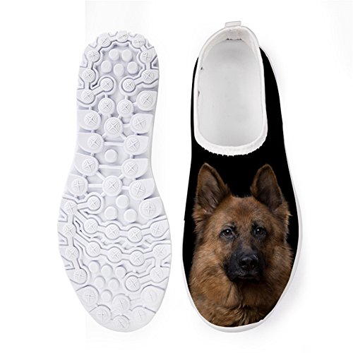 Showudesigns Fashion Animal Summer Mesh Flats Sneaker Running Walking Shoes for Womens Color 5 Fb7jP7