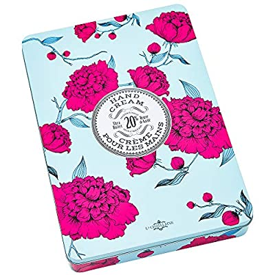 La Chatelaine Deluxe 12 Hand Cream Gift Set, 20% Shea Butter Hand Creams, Beauty Gift, Organic Argan Oil, Hydrating, Nourishing, Extra-Rich, Paraben Free, Made in France, 12 x 1 fl oz