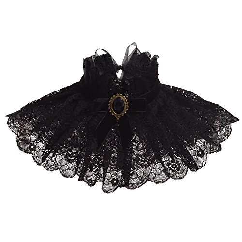 BLESSUME Lolita Black Neck -