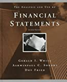 img - for The Analysis and Use of Financial Statements by Gerald I. White (1997-06-23) book / textbook / text book