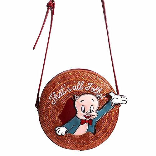 Danielle Nicole X Looney Tunes Porky Pig Crossbody Bag