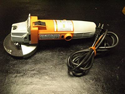 "Chicago Electric Power Tools 4-1/2"" Heavy Duty Angle Grinder"