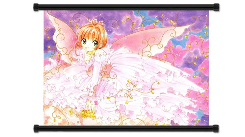 Cardcaptors Sakura Anime Fabric Wall Scroll Poster  Inches.