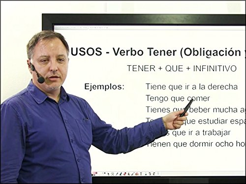 Spanish Lesson 5   Use Of The Verb Tener 2  More Numbers  Age  Vocabulary About Classroom