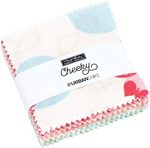 Moda Fabric Cheeky Mini Charm - Sold Per 1/4 Metre (Long Quarter): Amazon.es: Hogar